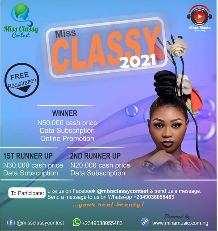 Miss Classy Contest